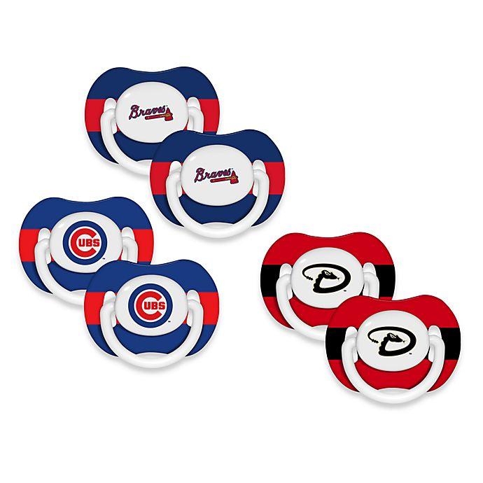 Alternate image 1 for Baby Fanatic® MLB® Pacifier 2-Pack