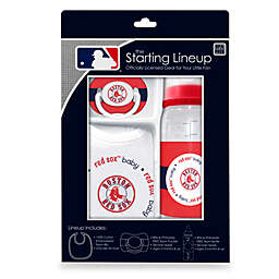 Boston Red Sox Baby Feeding Gift Set