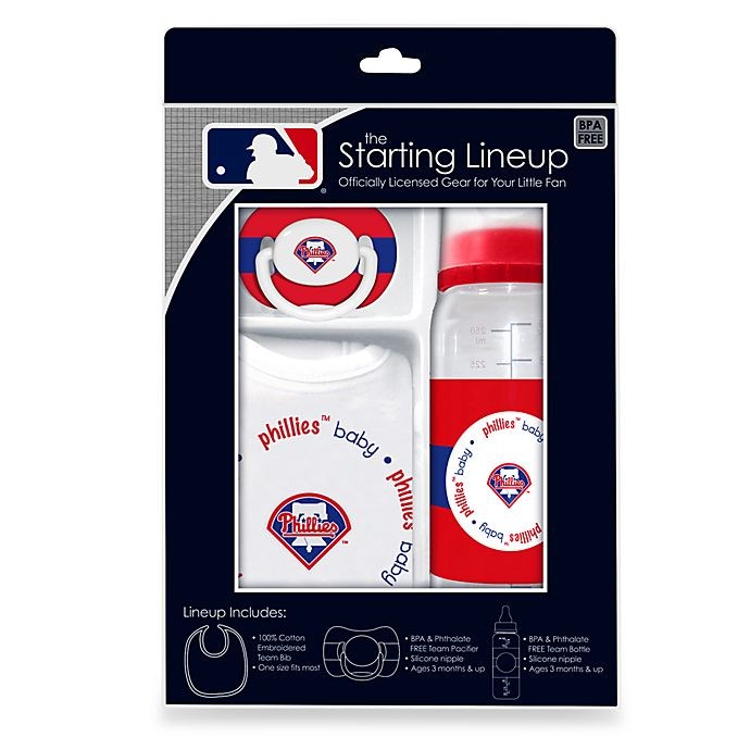 new product 8ab73 1c708 Philadelphia Phillies Baby Feeding Gift Set | Bed Bath & Beyond