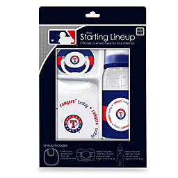 Texas Rangers Baby Feeding Gift Set