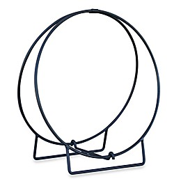 UniFlame® 36-Inch Diameter Log Hoop in Black Finish