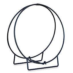 UniFlame® 24-Inch Diameter Log Hoop in Black Finish