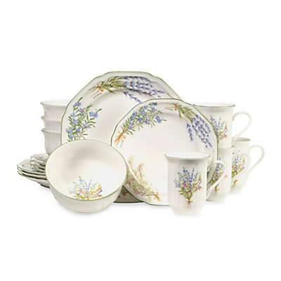 Mikasa® Botanical Bouquest 16-Piece Dinnerware Set