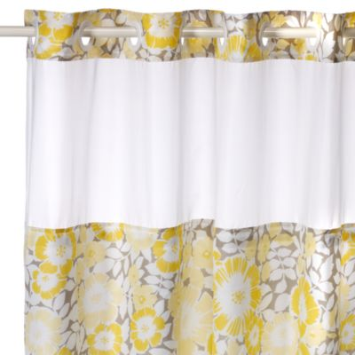 Fan Floral Hookless Shower Curtain Bed Bath Beyond