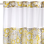 Fan Floral Hookless Shower Curtain