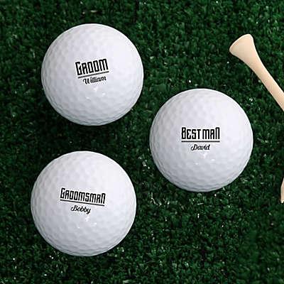I Do Crew Golf Balls (Set of 3)