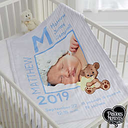 Precious Moments® Baby Boy Fleece Baby Blanket