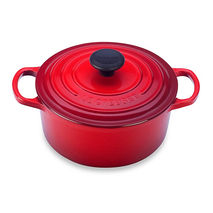 Le Creuset Signature 3 5 Qt Round Dutch Oven Bed Bath Beyond