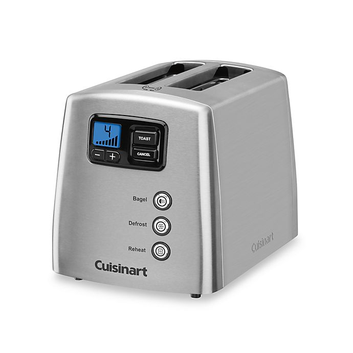 Alternate image 1 for Cuisinart® Touch to Toast Leverless 2-Slice Toaster