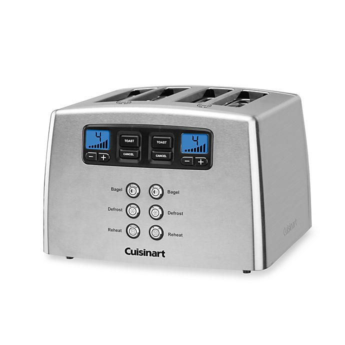 Alternate image 1 for Cuisinart® Touch to Toast Leverless 4-Slice Toaster
