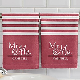 Wedded Pair Hand Towel