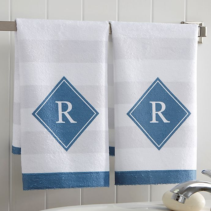 Alternate image 1 for Classic Initial Hand Towel