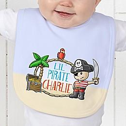 Lil' Pirate Baby Bib