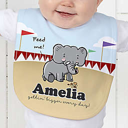 Lovable Elephant Baby Bib