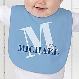 Alphabet Fun Baby Bib