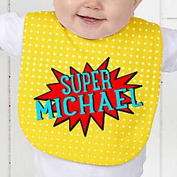 Super Hero Baby Bib