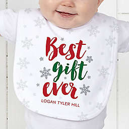 Best Gift Ever Baby Bib
