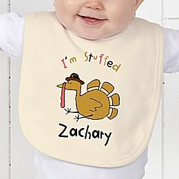 I'm Stuffed Baby Bib