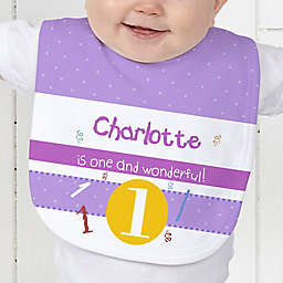 What's Your Number? Baby Bib