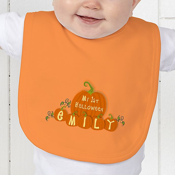 Alternate image 1 for My 1st Halloween Baby Bib