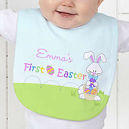 First Easter Baby Bib