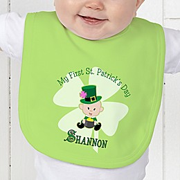 My 1st St. Patrick's Day Baby Bib