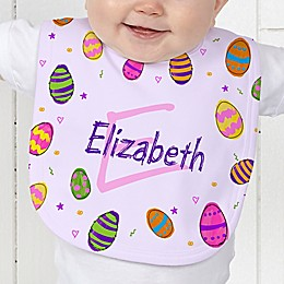 Colorful Eggs Baby Bib