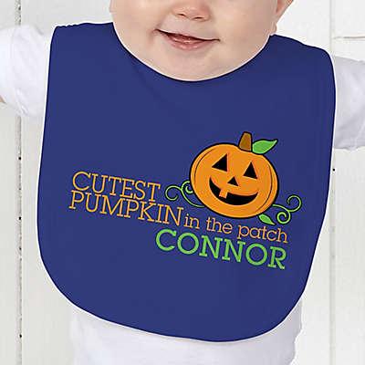 Cutest Pumpkin in the Patch Baby Bib