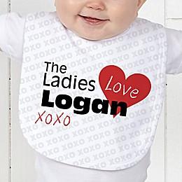 The Ladies Love Me Baby Bib