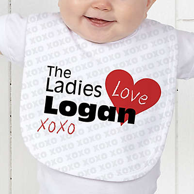 The Ladies Love Me Baby Bib