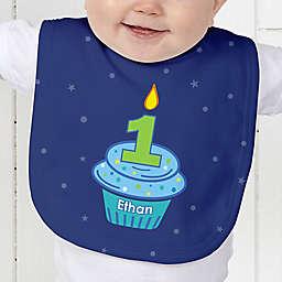 My Little Cupcake Birthday Baby Bib