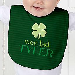 Born Lucky Baby Bib