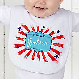 My First 4th of July Baby Bib