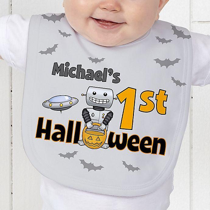 Alternate image 1 for My First Halloween Baby Bib