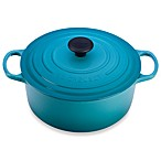 Le Creuset® Signature 5.5 qt. Round Dutch Oven in Caribbean
