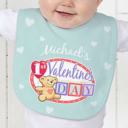 Teddy Bear Love Baby Bib
