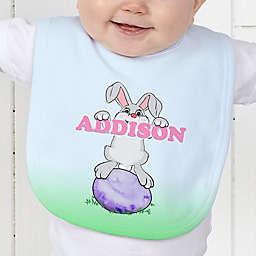 Bunny Love Baby Bib