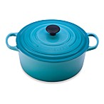Le Creuset® Signature 7.25 qt. Round Dutch Oven in Caribbean