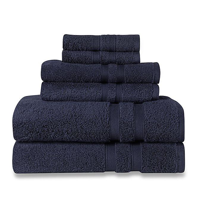 Alternate image 1 for Wamsutta® Ultra Soft 6-Piece Bath Towel Set