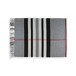 Brushed Plaid Throw Blanket
