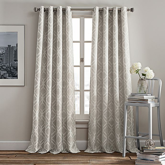 Alternate image 1 for Rutherford Grommet Top Window Curtain Panel
