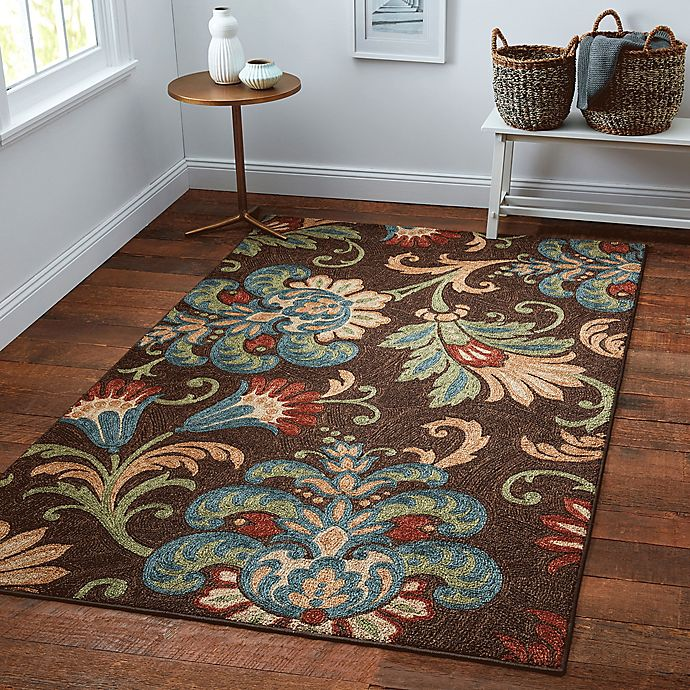 Alternate image 1 for Charleston 5-Foot x 8-Foot Rug in Chocolate