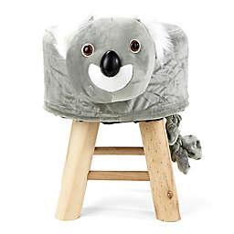 Mind Reader Koala Kid's Stool/Ottoman
