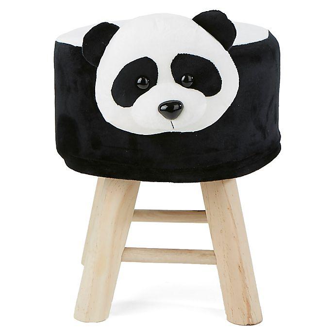 Incredible Mind Reader Panda Kids Stool Ottoman Bed Bath Beyond Theyellowbook Wood Chair Design Ideas Theyellowbookinfo