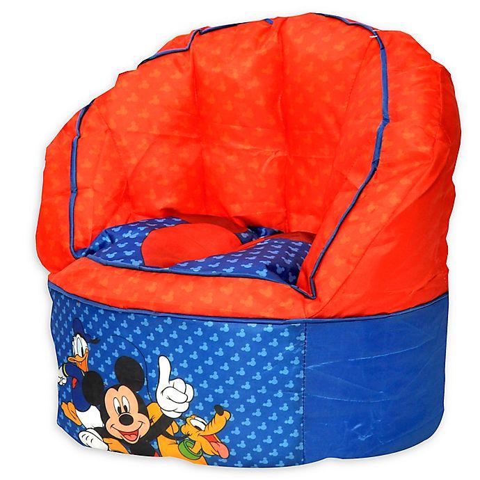 Outstanding Idea Nuova Disney Mickey Mouse Bean Bag Chair Buybuy Baby Customarchery Wood Chair Design Ideas Customarcherynet