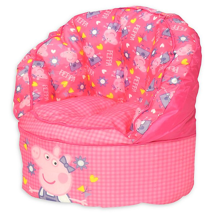 Wondrous Idea Nuova Peppa Pig Bean Bag Chair Bed Bath Beyond Ocoug Best Dining Table And Chair Ideas Images Ocougorg