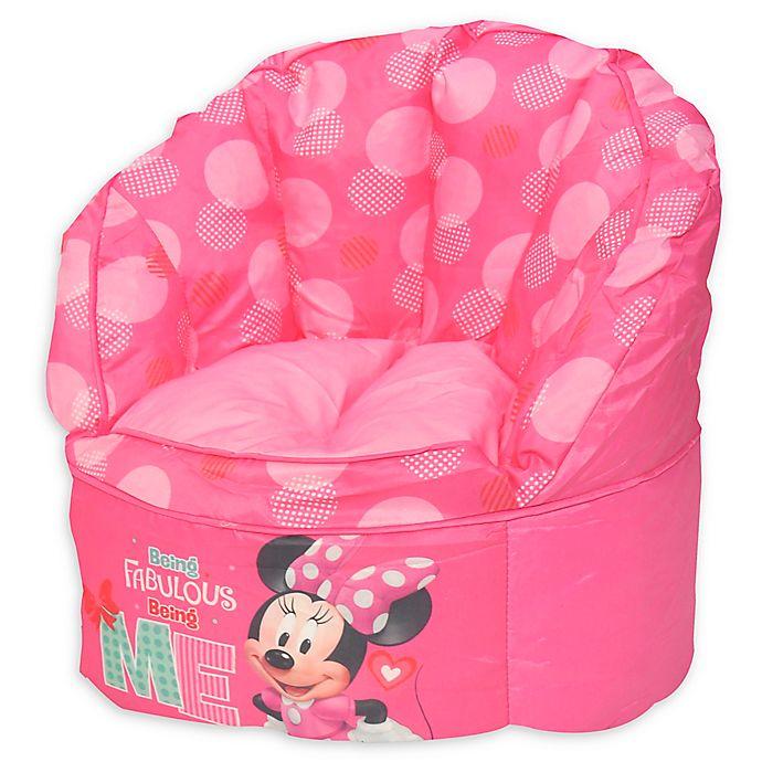 Surprising Idea Nuova Disney Minnie Mouse Bean Bag Chair Customarchery Wood Chair Design Ideas Customarcherynet
