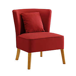 Forest Gate Aiden Modern Accent Chair with Curved Back