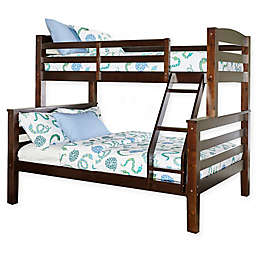 Levi Twin Over Twin Bunk Bed in Espresso