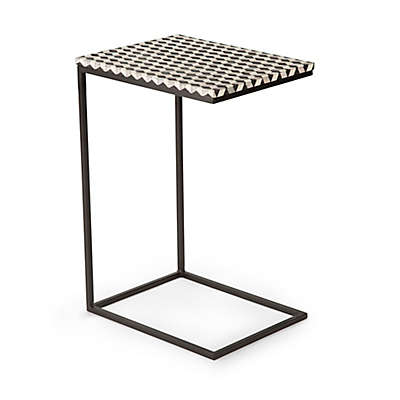 Steve Silver Co. Kimball C-Shape Chairside End Table